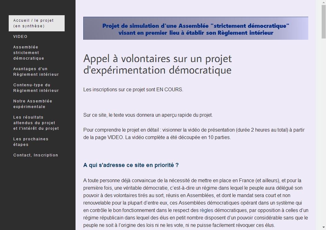 [Projet d'expérimentation démocratique] Élaborer ensemble le RÈGLEMENT INTÉRIEUR de nos prochaines assemblées démocratiques, avec Maxime Péroud