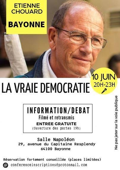 Rendez-vous à BAYONNE le 10 juin: perspectives pratiques ouvertes — et travaillées un peu partout en France et dans d'autres pays — par les Citoyens constituants depuis 2005, puis par les Gilets jaunes constituants depuis le mois de décembre 2018