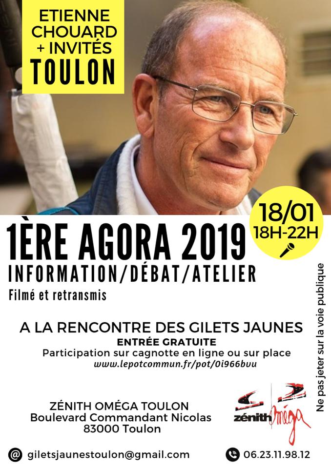 [#GiletsJaunesConstituants]Rendez-vous le 18 janvier 2019 à TOULON