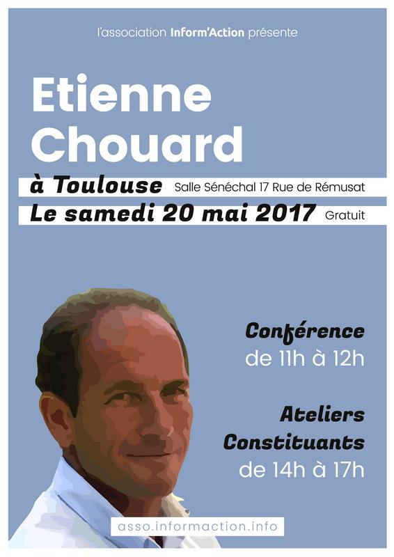 Rendez-vous à Toulouse avec Inform'Action, le 20 mai 2017 à 11h, pour des ateliers constituants