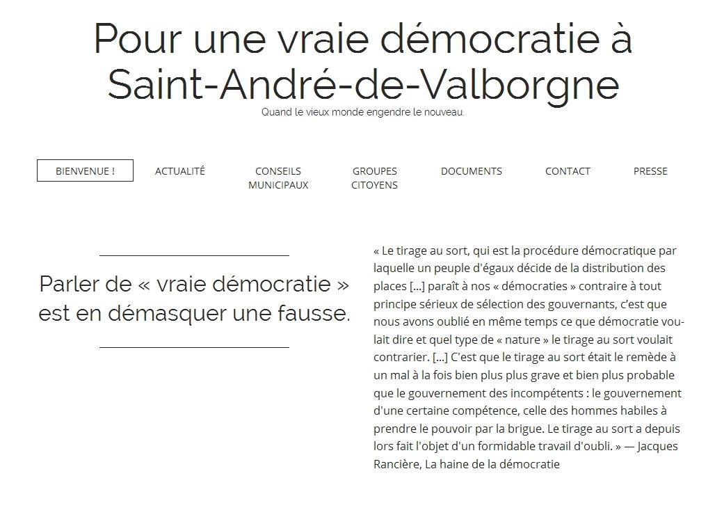 Pour une vraie démocratie à Saint-André-de-Valborgne: les efforts admirables de Camille Halut – Filmer les élus en train de travailler ou pas?