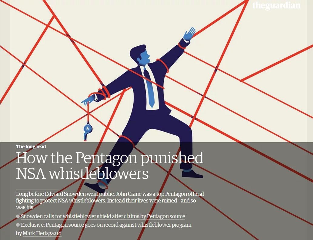 [Bien commun menacé – Tous concernés] Comment le Pentagone punit les lanceurs d'alerte