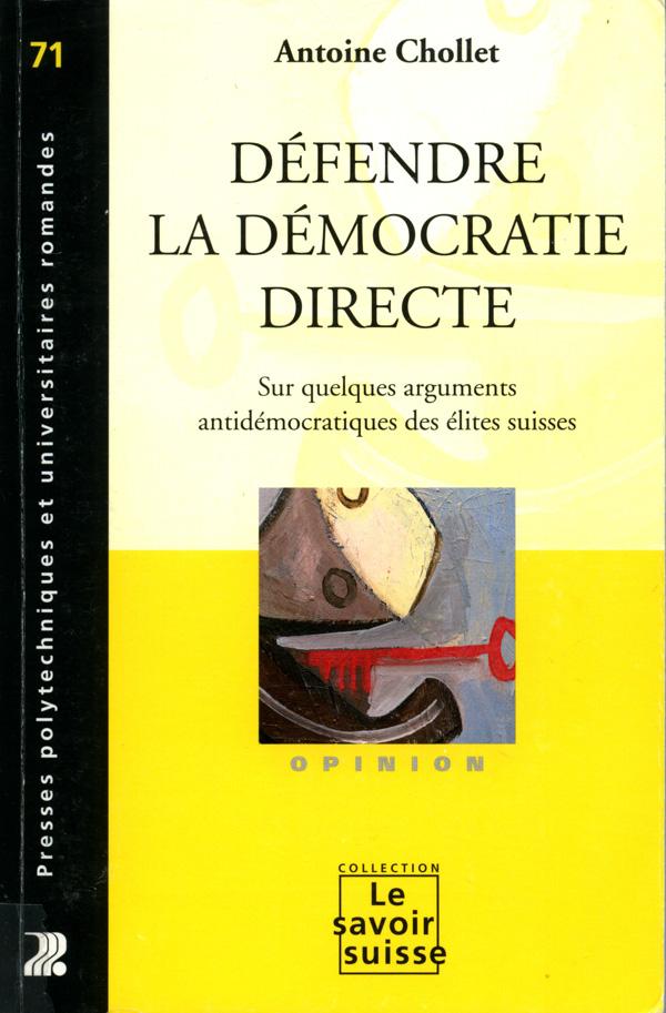 Couverture du livre d'Antoine Chollet :