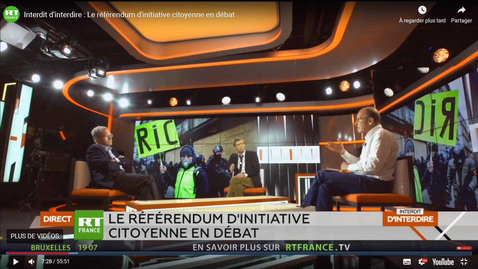 [RICs LIBRES et contagieux – DÉMOCRATIE VRAIE] Dans l'Aveyron, des Gilets jaunes ont organisé EUX-MÊMES un RIC local!
