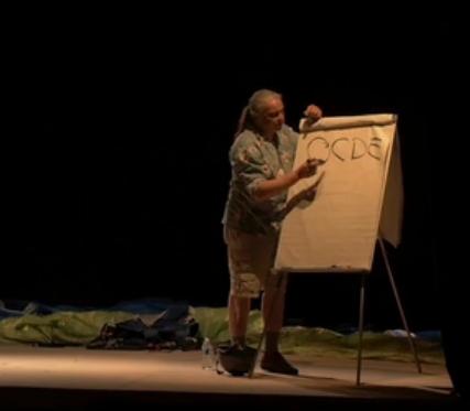 [Éducation populaire – Conférences gesticulées – Résistance au capitalisme] Franck Lepage à Bourgueil, 13 mai 2017