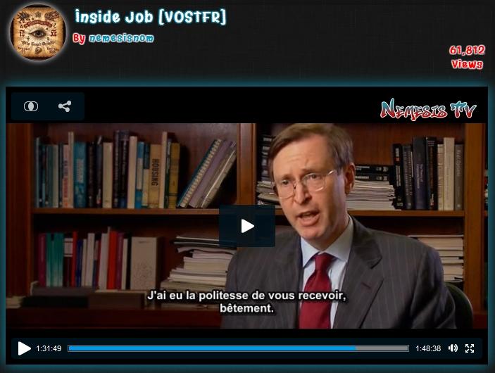 Inside Job : les universitaires économistes pris la main dans le sac