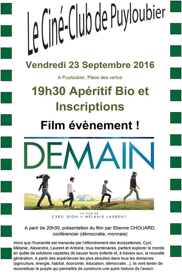 [Rendez-vous] 23 sept 2016: présentation du film Demain à Puyloubier (13)