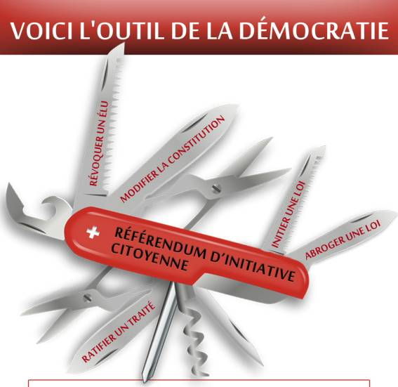 Soutenez la proposition GILETS JAUNES: PRIORITÉ UNIQUE au Référendum d'Initiative Citoyenne, le RIC