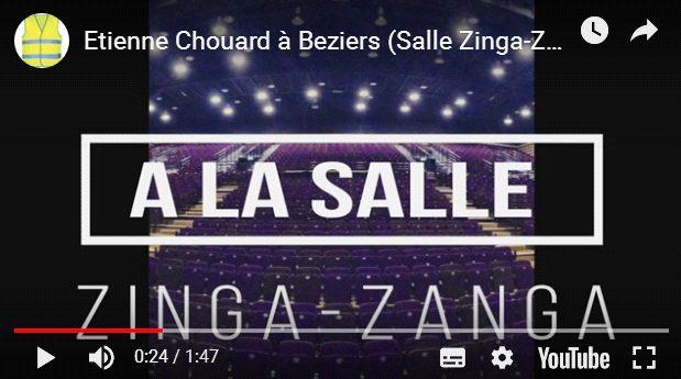 Rendez-vous mardi prochain, 9 avril 2019, à BÉZIERS