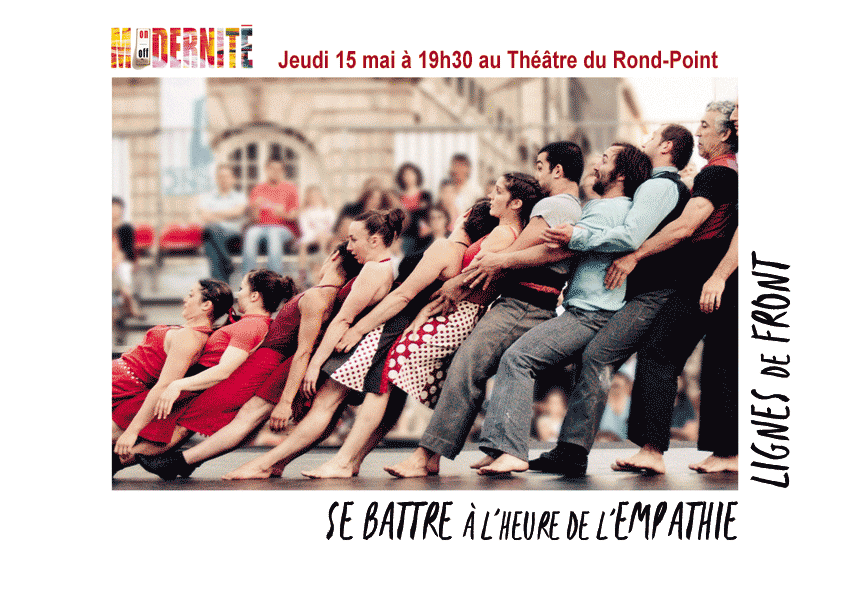 «Se battre à l'heure de l'empathie – Lignes de front», jeudi prochain à Paris