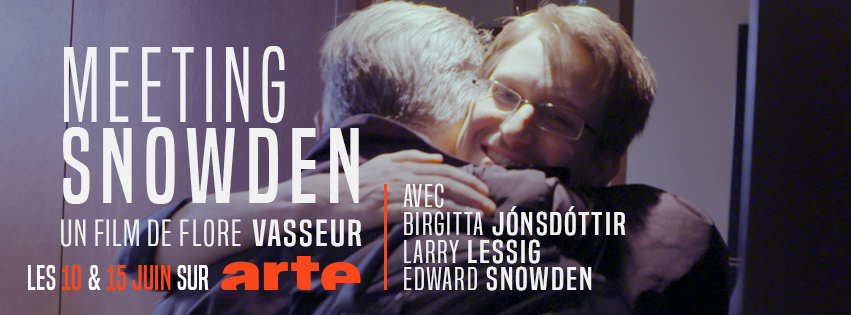 [Merci Flore] MEETING SNOWDEN: Larry Lessig et Birgitta Jónsdóttir vont rencontrer Edward Snowden en Russie, filmés par Flore Vasseur